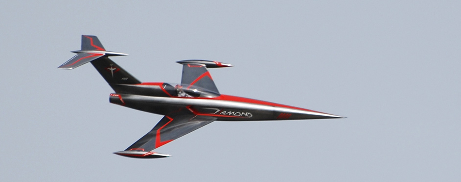 RC Jet Model DIAMOND - Kit designed by Eric Rantet