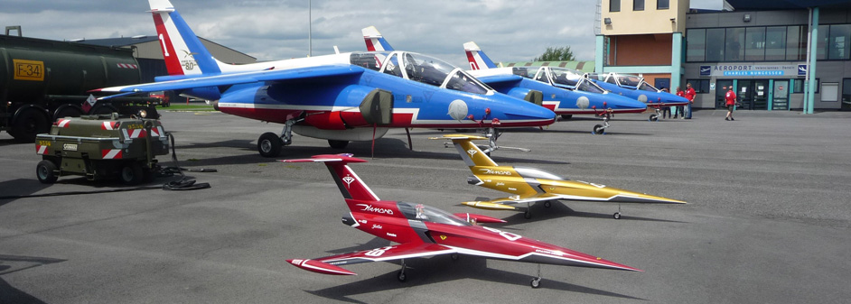 diamond with patrouille de france - Jets RC - Aviation Design