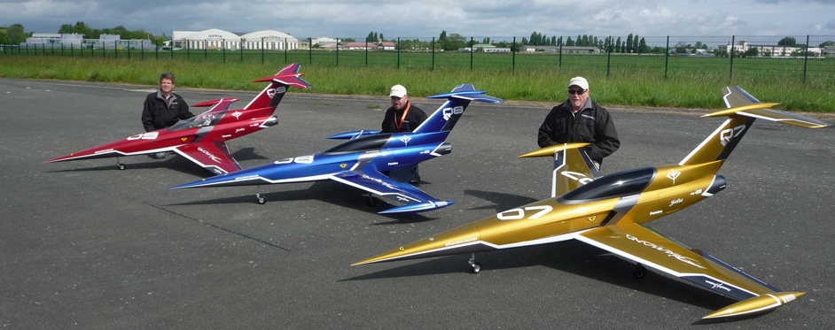 Diamond racing team Brétigny - Jets RC - Aviation Design