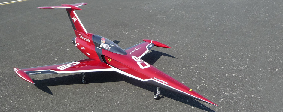 Diamond red racing - Jets RC - Aviation Design