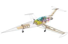 Diamond Catia software designed - RC Jets models - Aviation Design
