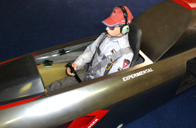 Super scale Diamond pilot - RC Jets models - Aviation Design