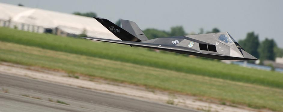F117 in low pass - Jets RC - Aviation Design