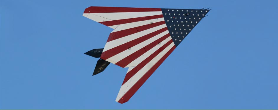 F117 with US flag - Jets RC - Aviation Design
