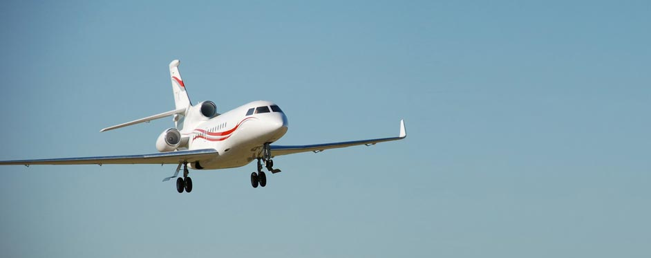 Falcon 7X on landing approach - Jets RC - Aviation Design