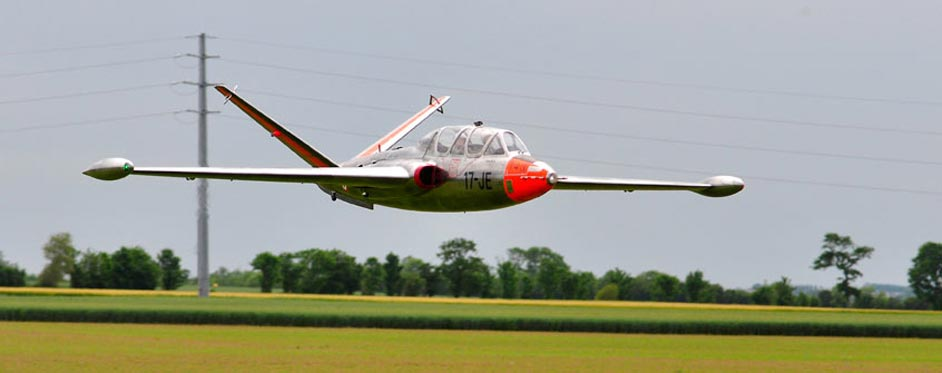 Fouga Magister in Low pass - Jets RC - Aviation Design