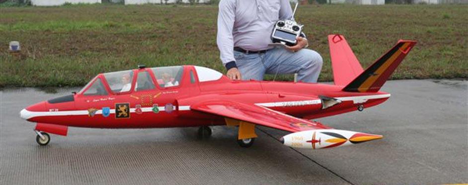 Belgium Fouga Magister - Jets RC - Aviation Design