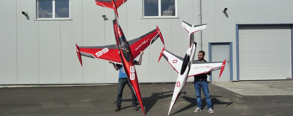 Diamond and Mini Diamond vertically - Jets RC - Aviation Design