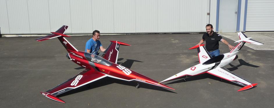 Diamond and Mini Diamond - Jets RC - Aviation Design
