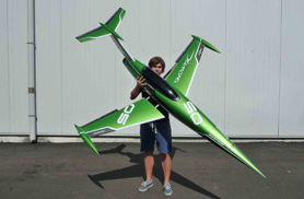 Mini Diamond green - RC Jets models - Aviation Design