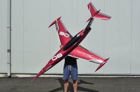 Mini Diamond red - RC Jets models - Aviation Design