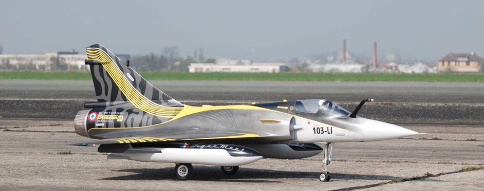 éric RANTET's Mirage 2000 tigermeet 2011 - Jets RC - Aviation Design