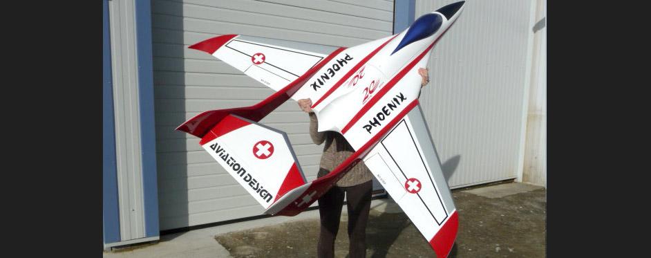 Phoenix Swiss - Jets RC - Aviation Design