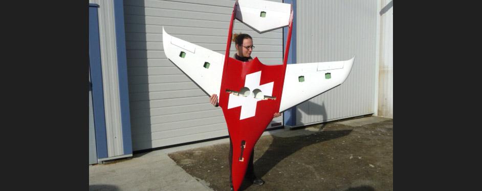 Phoenix Swiss bottom view - Jets RC - Aviation Design