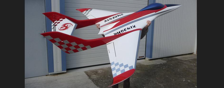 Phoenix white silver - Jets RC - Aviation Design