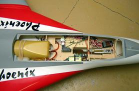 Kit Phoenix electronic parts - RC Jets models - Aviation Design