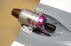 Kit Phoenix turbine installation - RC Jets models - Aviation Design