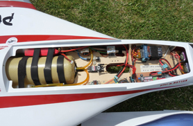 Kit Phoenix eadio installation - RC Jets models - Aviation Design
