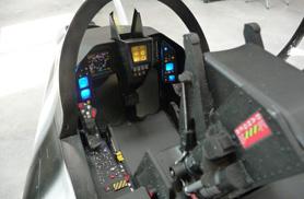 Kit Rafale 1/5eme : LCD cockpit - RC Jets models - Aviation Design