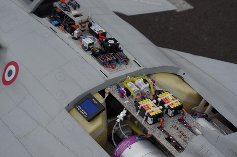 Kit Rafale 1/5eme : Rafale installation - RC Jets models - Aviation Design