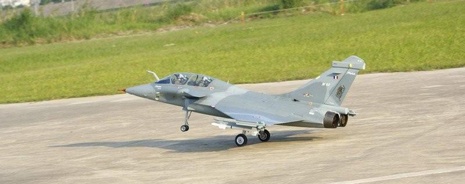 Rafale during take off - Jets RC - Aviation Design