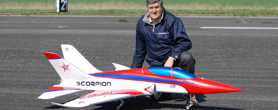 Russian Scorpion on the ground - Jets RC - Aviation Design