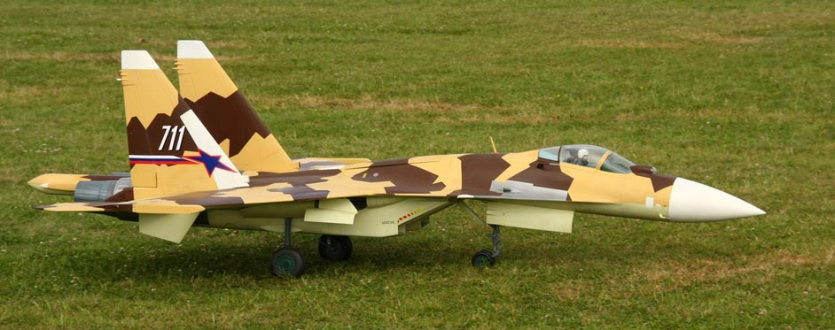 Sukhoi 37 with vectoring thrust - Jets RC - Aviation Design