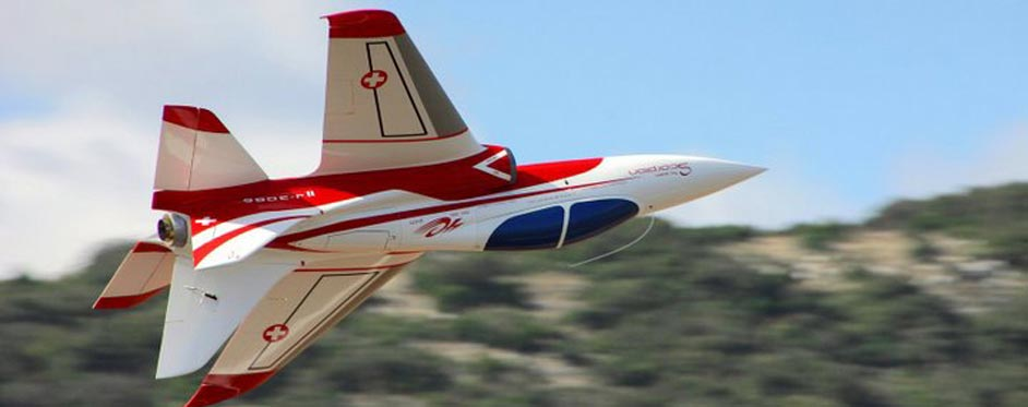 In roll Super Scorpion - Jets RC - Aviation Design