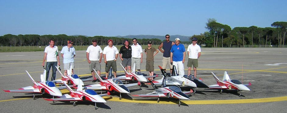 Super Scorpion meeting at Le Luc air base - Jets RC - Aviation Design