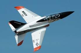 In flight Navy Super Scorpion - RC Jets models - Aviation Design