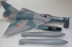 MINI MIRAGE 2000 : 1 turbine, 2,6 kg de poussée installée - Jets radio-commandés - Aviation Design