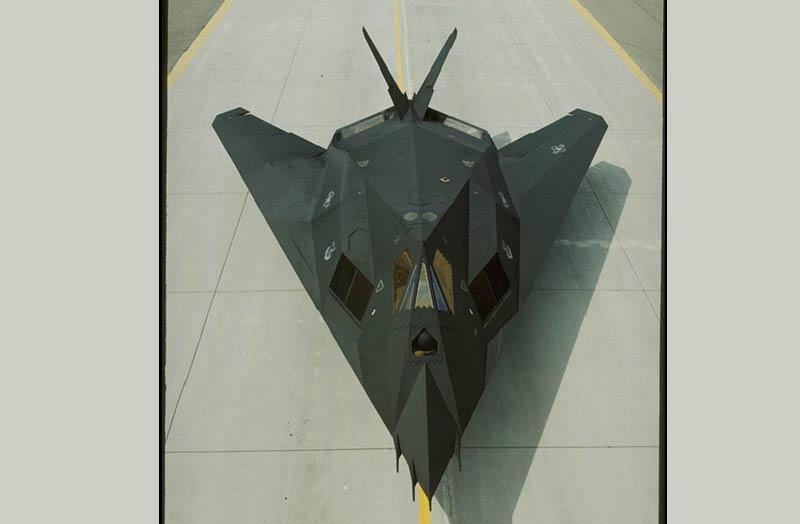 Jet Model Kits Kit F-117 rc Jet Model