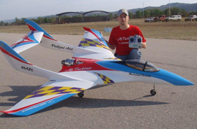 Kit ANGEL PULQUI JET ARGENTINA - Jet radio-commandé - Aviation Design