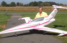 Kit DIAMOND ANTOINE BARUA - RC Jet model - Aviation Design