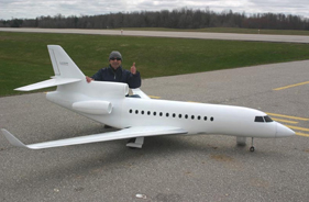 Kit FALCON 7X PETER AYACHE - RC Jet model - Aviation Design