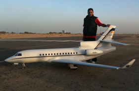 Kit FALCON 7X FAISAL THOWAINI - Jet radio-commandé - Aviation Design