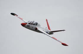 Kit FOUGA MAGISTER 1/4 CHARLES LEVY LOW PASS - Jet radio-commandé - Aviation Design