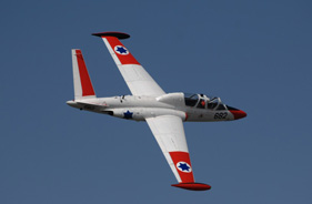 Kit FOUGA MAGISTER 1/4 CHARLES LEVY - RC Jet model - Aviation Design