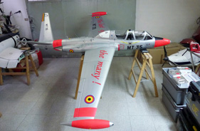 Kit FOUGA MAGISTER 1/4 JORG ALBRECHT - RC Jet model - Aviation Design