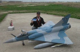 Kit MIRAGE 2000 GEORGE PAPAGIANNIS - RC Jet model - Aviation Design