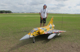 Kit MIRAGE GUSTAVO CAMPANA - RC Jet model - Aviation Design