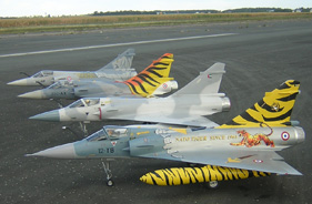 Kit MIRAGE 2000 CEV BRÉTIGNY - Jet radio-commandé - Aviation Design