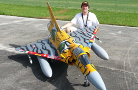 Kit MIRAGE 2000 GUSTAVO CAMPANA TOP GUN - RC Jet model - Aviation Design