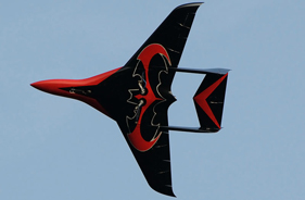 Kit PHOENIX LAURIE HUGHES - RC Jet model - Aviation Design