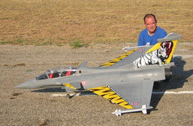 Kit RAFALE 1/7 FRANCIS LAURENS - RC Jet model - Aviation Design