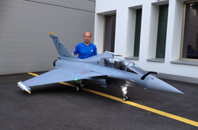 Kit RAFALE 1/5 EDGAR BRUHIN - RC Jet model - Aviation Design