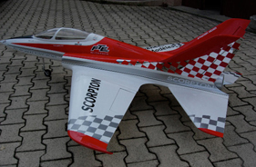 Kit SCORPION MARC LEVY - RC Jet model - Aviation Design