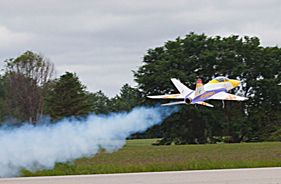 Kit SCORPION TAKING OFF WITH SMOKE - RC Jet model - Aviation Design