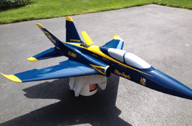 Kit SCORPION SEAN MC HALE BLUE ANGELS - RC Jet model - Aviation Design