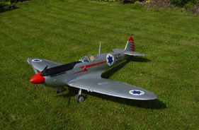Kit SPITFIRE FRED GRUNOW - RC Jet model - Aviation Design